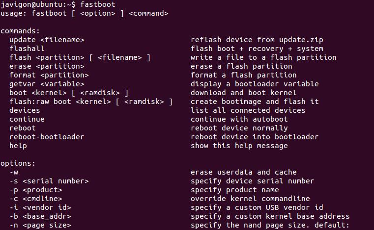 Android Developer Tools – Fastboot | My Cellar Door