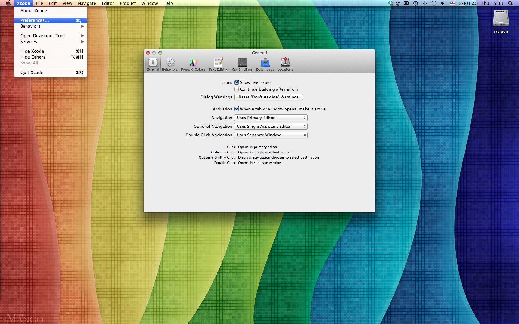 Recover command line after upgrading Mac OS – Installing